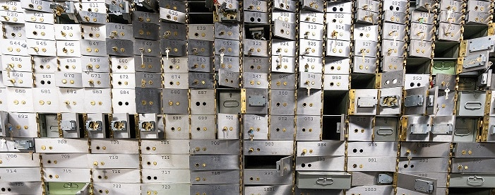 safety deposit boxes bank federal reserve