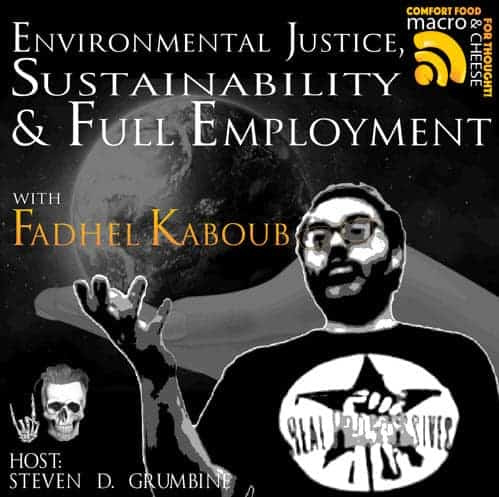 Episode 5 Environmental Justice, Sustainability and Full Employment with Fadhel Kaboub