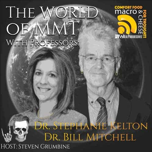 Episode 7 –  The World of MMT with Professors Stephanie Kelton & Bill Mitchell