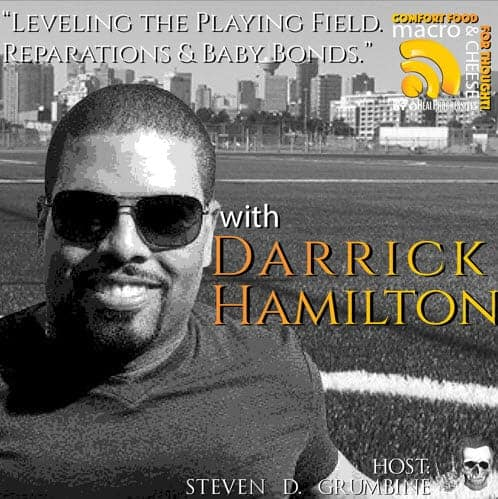 Episode 17 – Leveling the Playing Field. Reparations & Baby Bonds with Darrick Hamilton