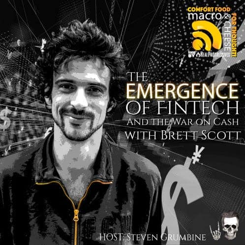 Episode 29 – The Emergence of FinTech and the War on Cash with Brett Scott