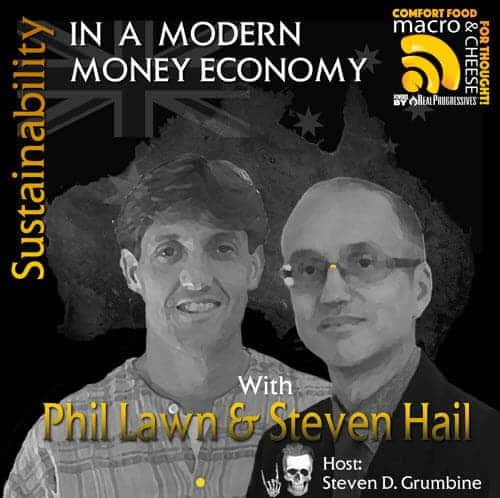 Episode 33 – Sustainability in a Modern Money Economy with Steven Hail & Phil Lawn