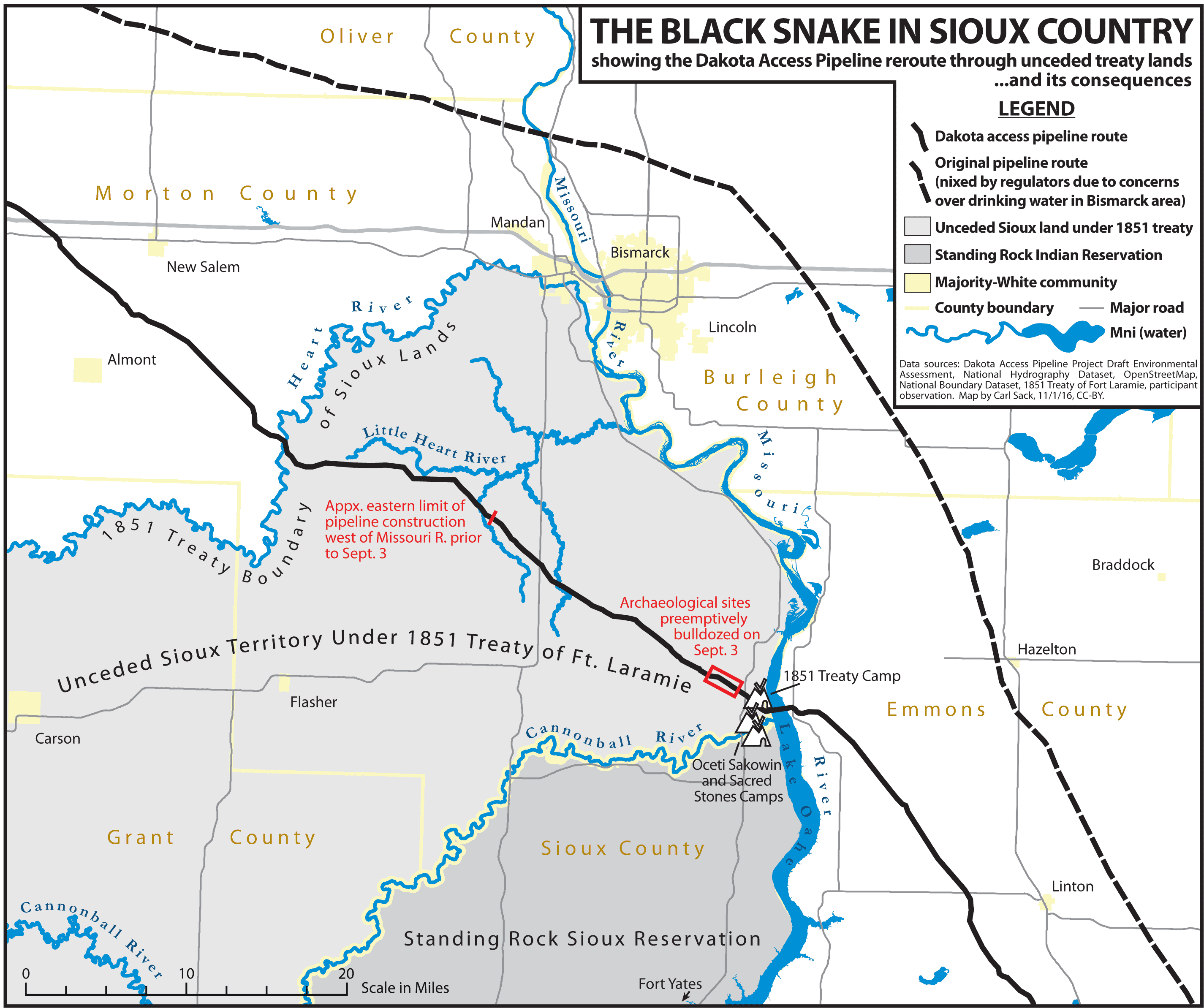 #NoDAPL Map Sioux Treaty Land