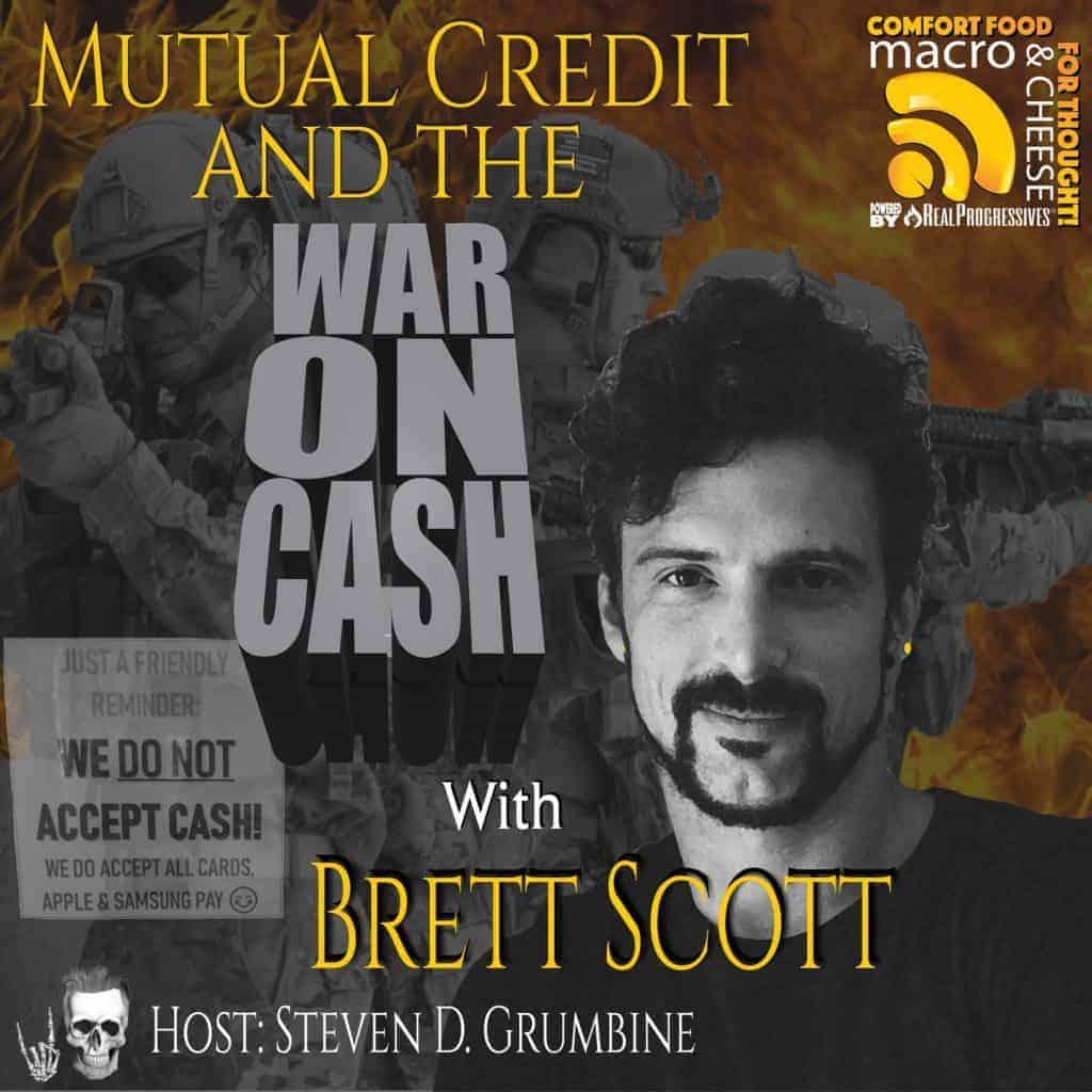 Brett Scott War on Cash Cover