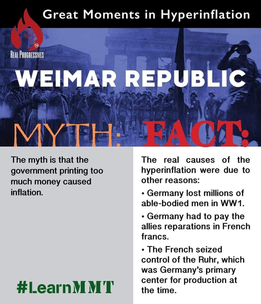 Debunk Weimar Meme