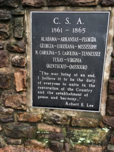 Robert E. Lee's headstone