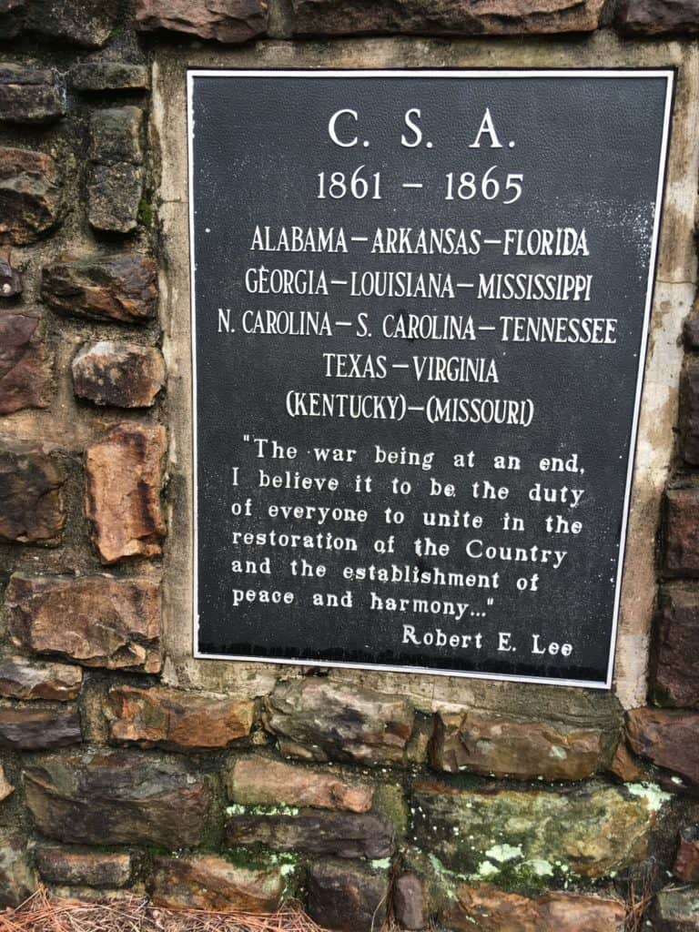 Robert E. Lee's headstone