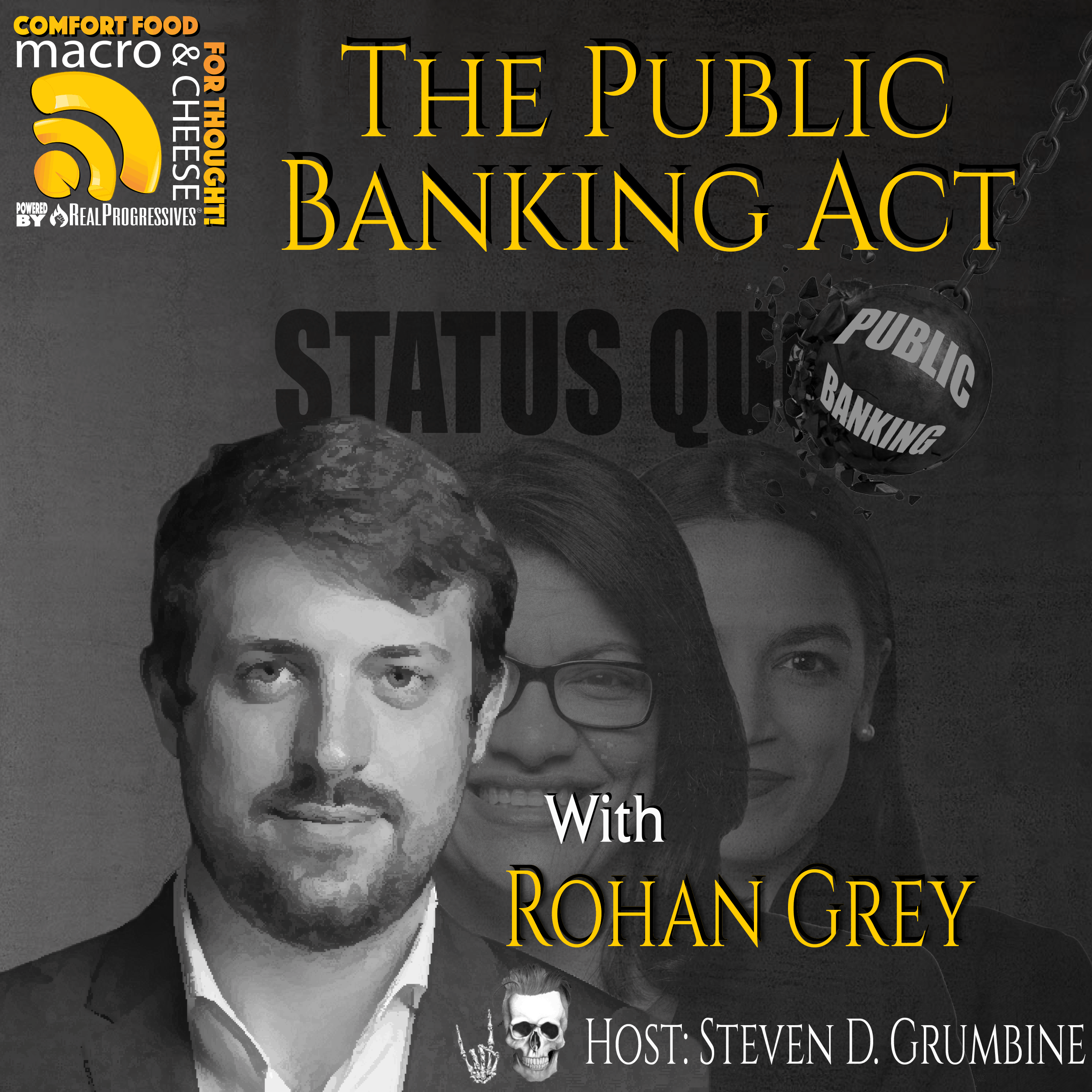 Episode 93 - The Public Banking Act with Rohan Grey