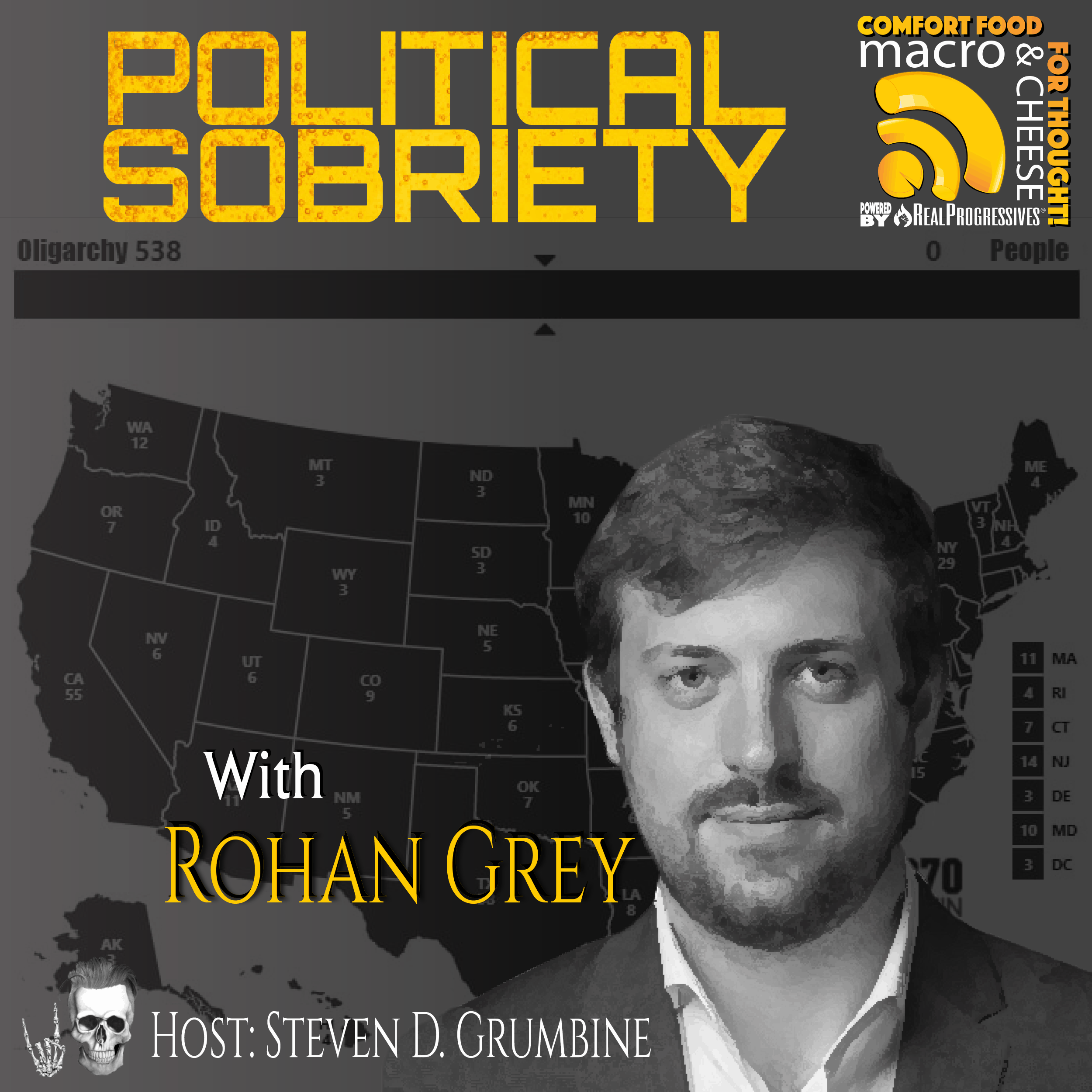 Episode 94 - Political Sobriety with Rohan Grey
