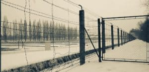 concentration camp gate