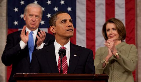 Barack Obama, Joe Biden, and Nancy Pelosi