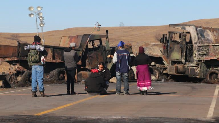 Standing Rock protest