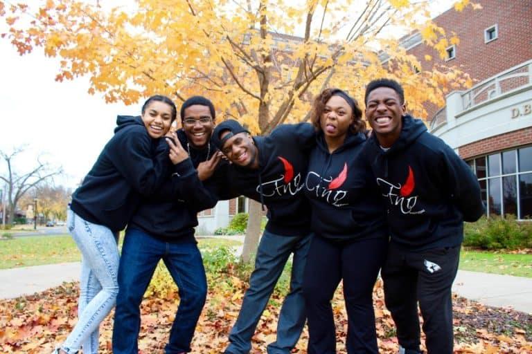 Black Campus Students