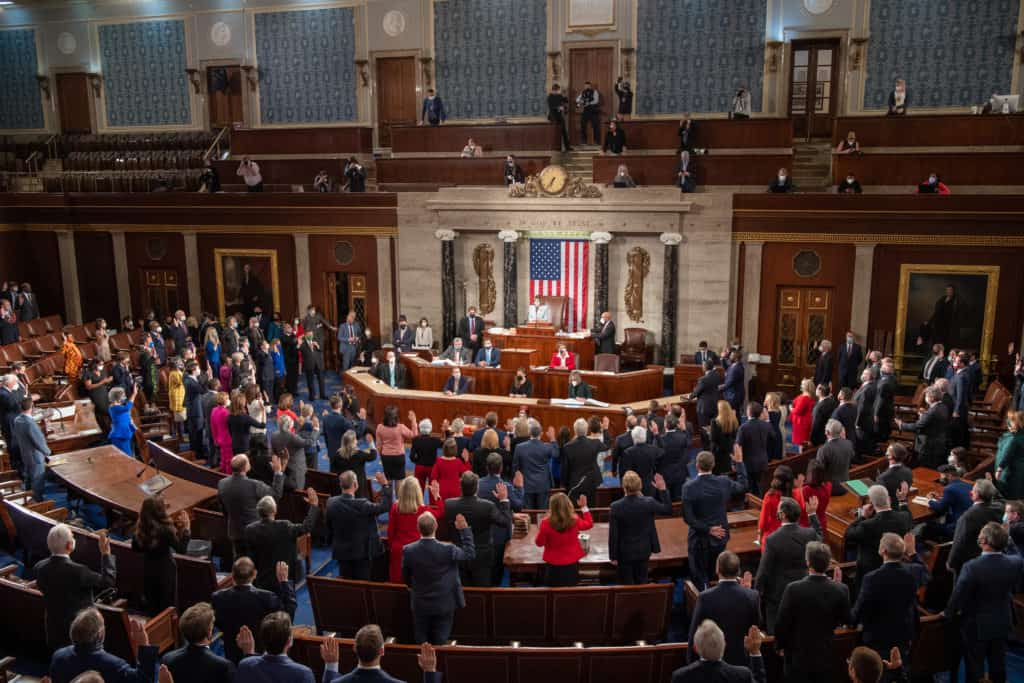 117th Congress Swearing In Floor Proceedings - January 3, 2021, House Chamber