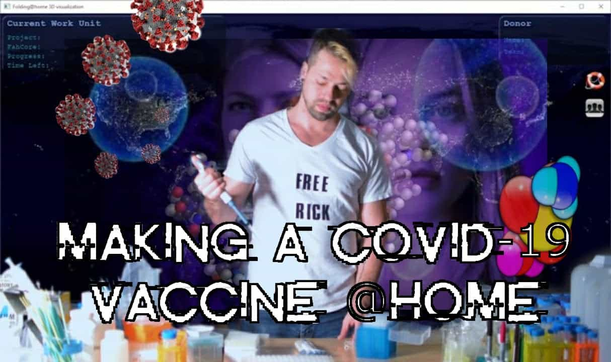How to Make a COVID-19 Vaccine @Home