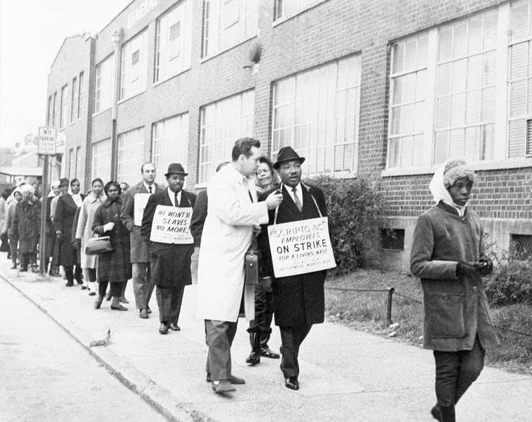 Martin Luther King Jr., Union Man