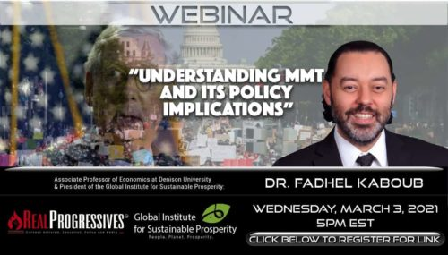 Understanding MMT and its Policy Implications, Fadhel Kaboub