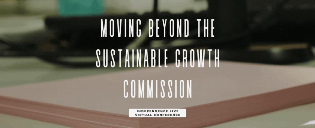 mondern money scotland, sustainable growth commission