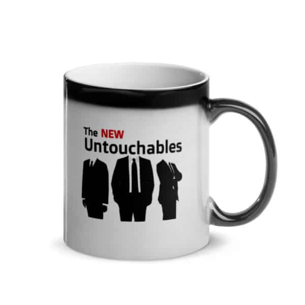 The New Untouchables coffee mug