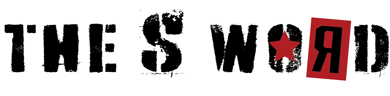 The S Word logo