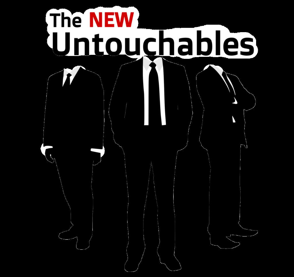 The New Untouchables logo