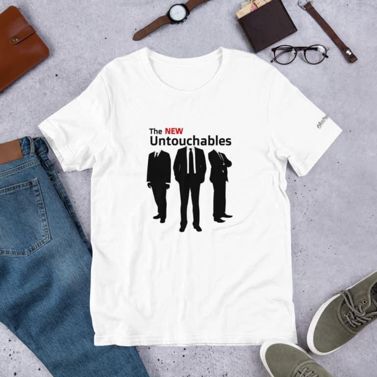 The New Untouchables t-shirt