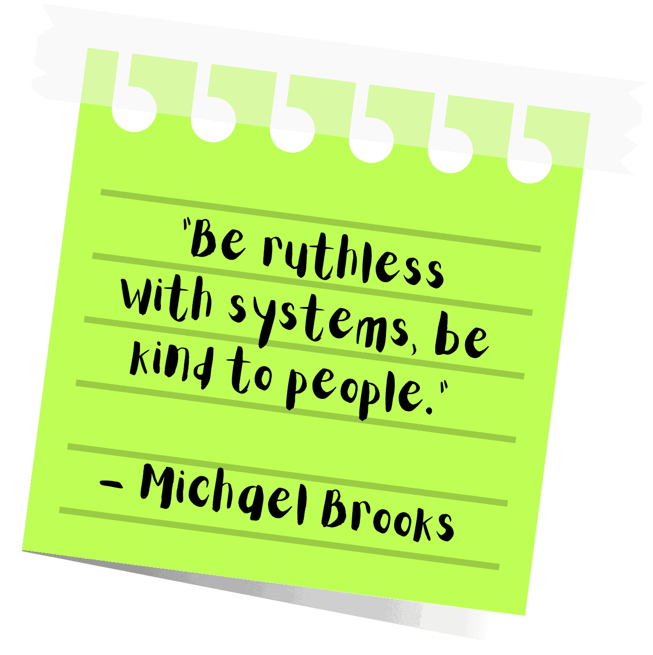 michael brooks quote