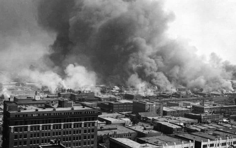 Tulsa Race Riot bombing