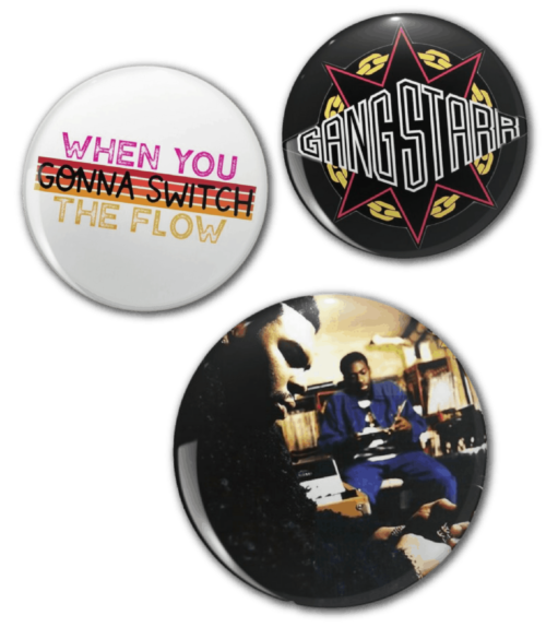 collector buttons
