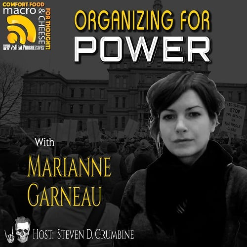 Marianne Garneau union organizing for power