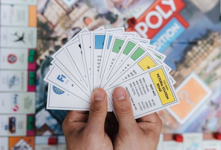 Image of properties in Monopoly