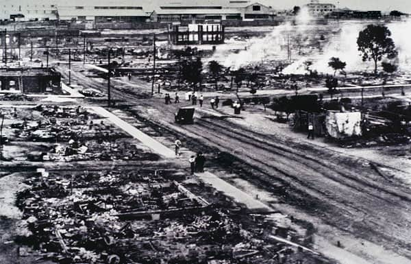 Aftermath of the Tulsa Race Riots