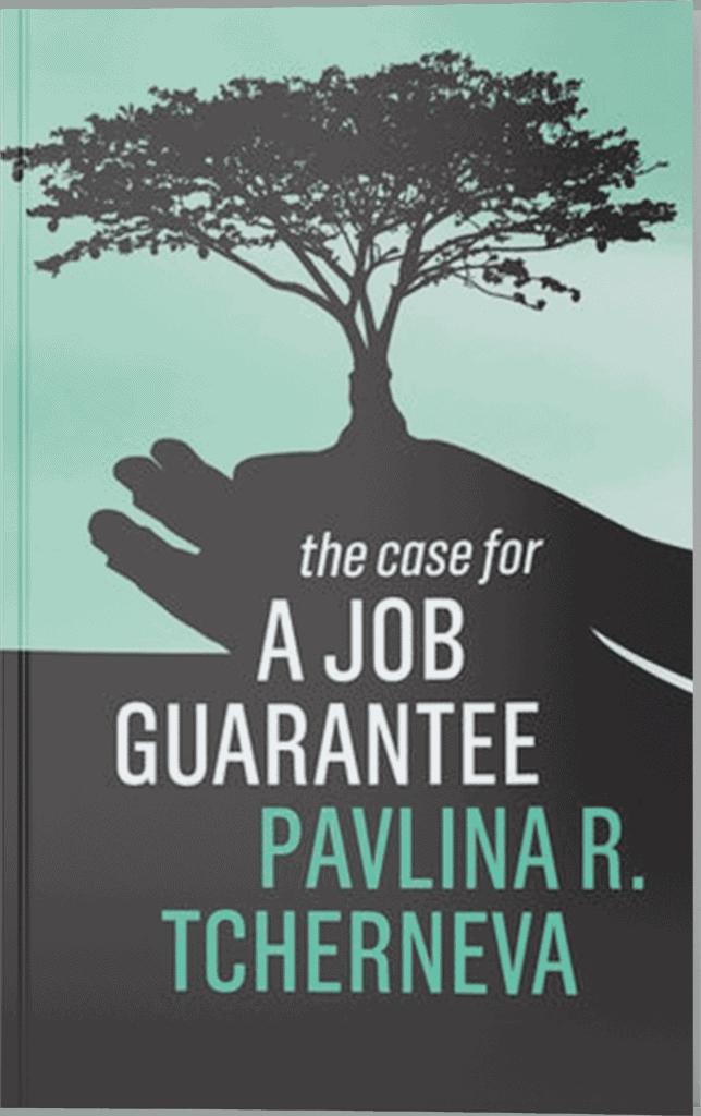 the case for a job guarantee book cover